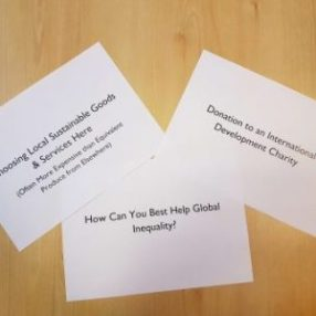 How can you Best Help with Global Inequality?