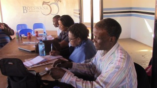 Team Botswana Progress